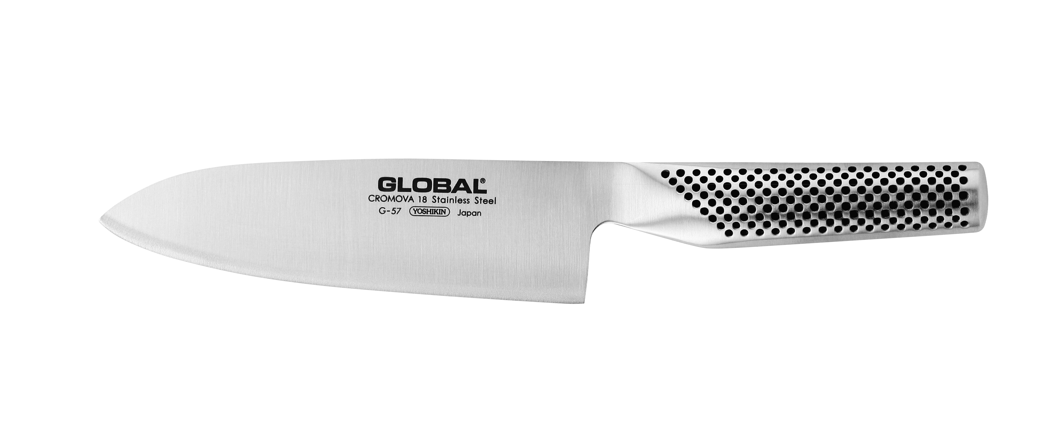 global kitchen knives island and table g57 16cm chefs knife g 57 kitchenknives co uk