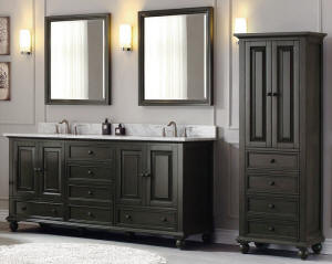 double sink vanities large bathroom