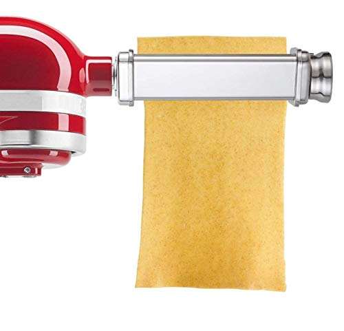 Kitchen Pasta Roller Attachment for Kitchenaid Stand MixerStainless Steelmixer accessory by Gvode Renewed