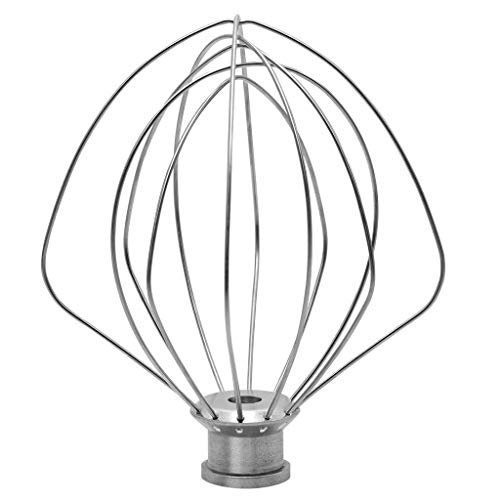 LniceskyWire Whip for KitchenAid Stainless Steel Egg Cream Stirrer Stainless Steel