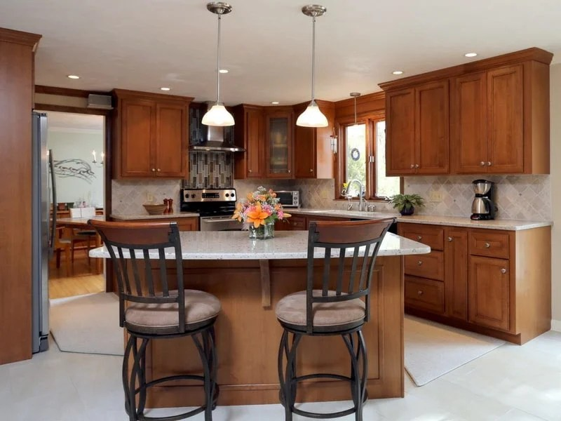 kitchen resurfacing metal outdoor cabinets cabinet refacing add an island peninsula pantry or additional uses your existing layout but you can on as space allows