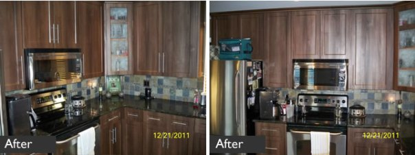 Kitchen refacing in Maple Ridge