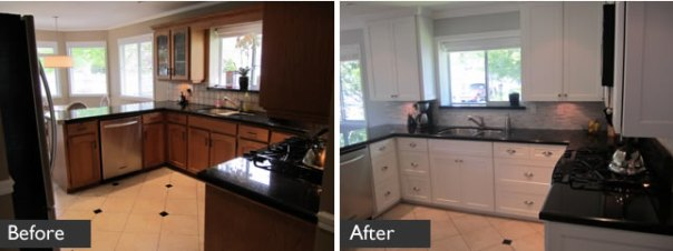 Kitchen Cabinet Refacing in South Surrey