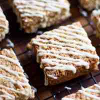 Simple Lemon & White Chocolate Flapjack