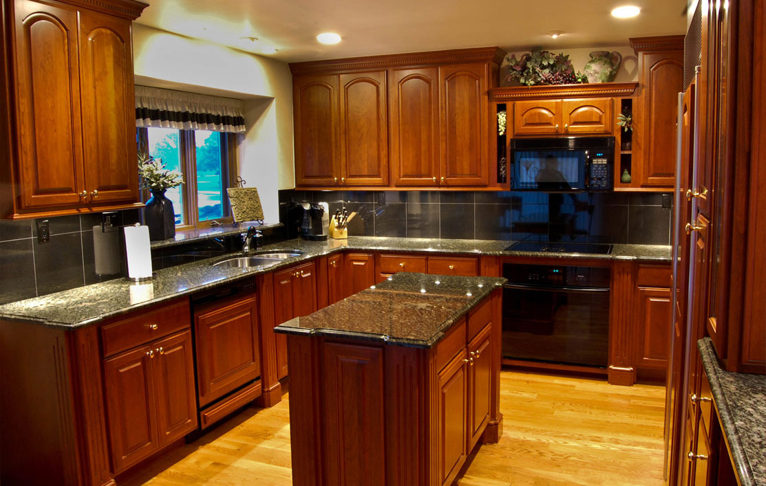 Best Kitchen Gallery: Kitchenmaster Get Cranberry Finish On Your New Oak Wood Kitchen of Cranberry Kitchen Cabinets on cal-ite.com
