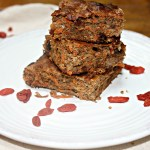 Carrot Cinnamon Snack Cake With Goji Berries
