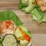Chicken Meatball Lettuce Wraps