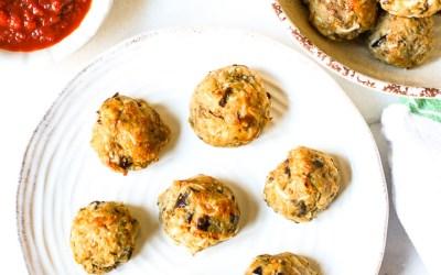 Paleo Eggplant Meatballs