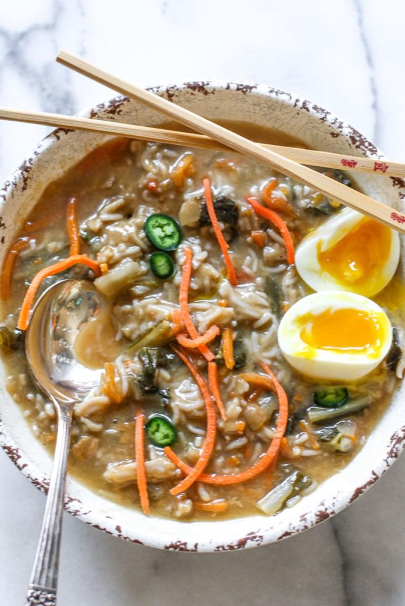 buckwheat ramen soup