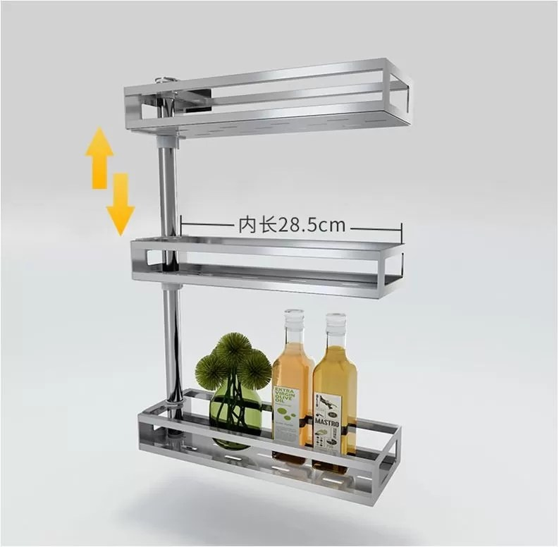 kitchen counter rack california pizza franchise fashion style countertop storage organizer adjustable china shelf supplier