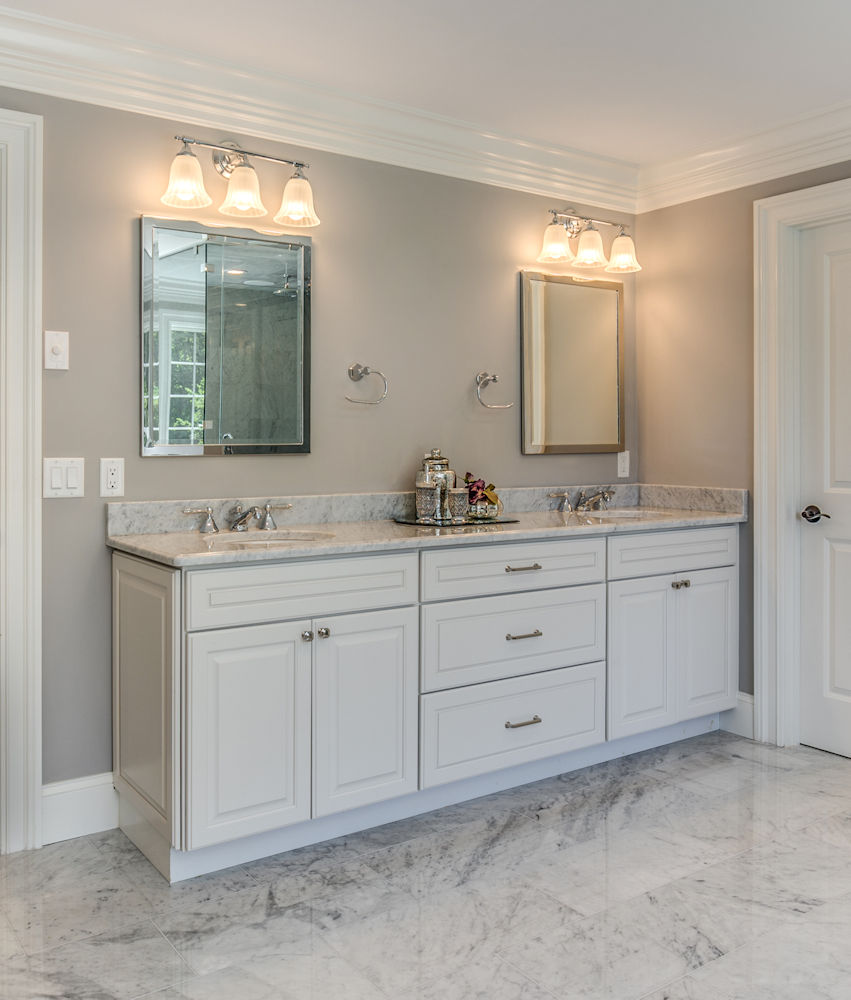 kitchen vanity tin backsplash for carole bathroom photos cabinets with tops winchester ma custom designed by