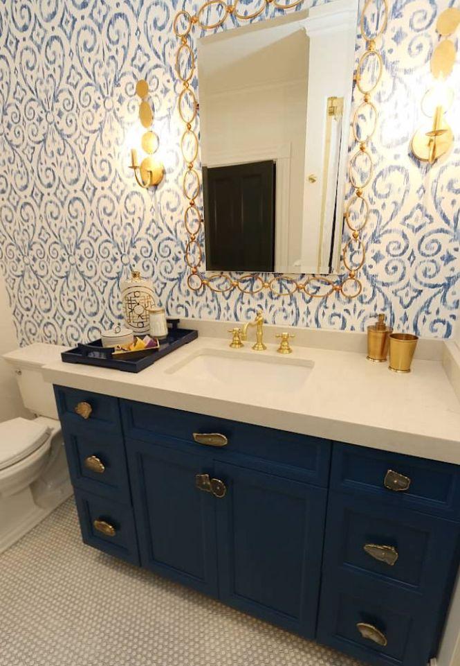 Newton Ma Custom Designed Bathroom Vanity By Carole