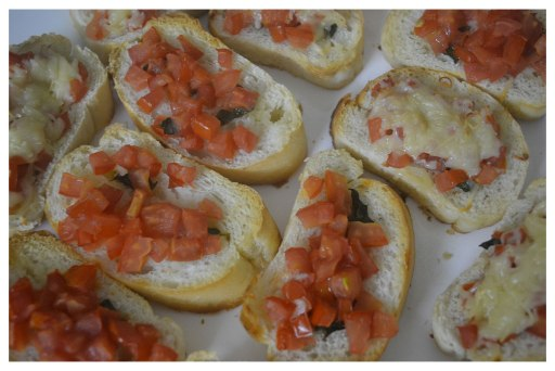Easy Bruschetta at home