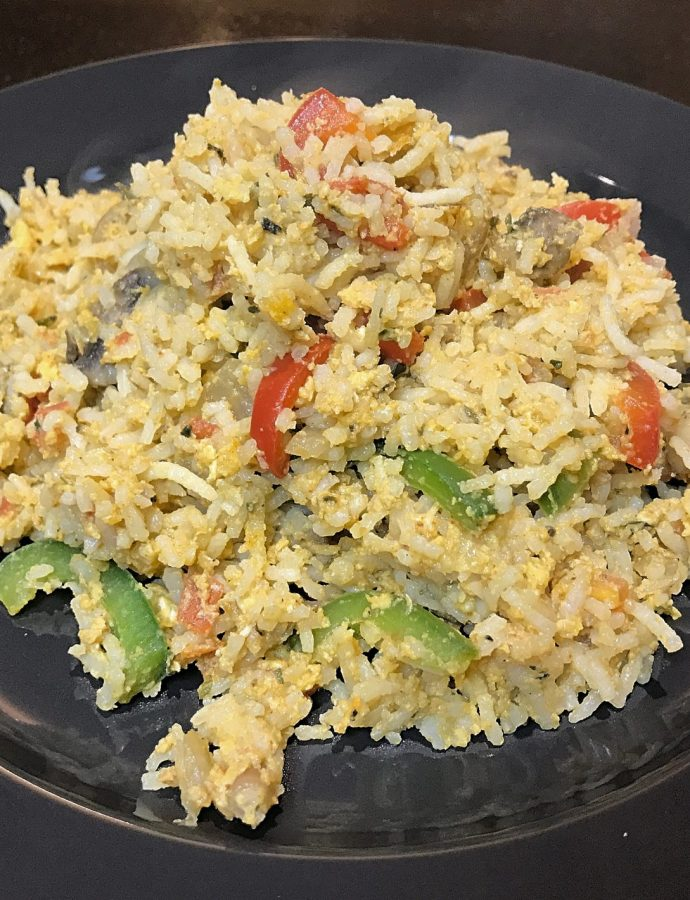 Herby Egg Rice