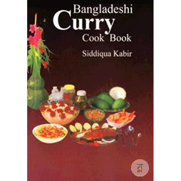 Bangladeshi Curry Cook Book cover.