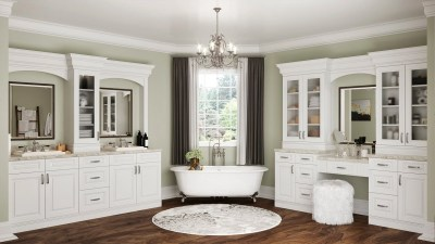 Bathroom Cabinets Torrance White - Kitchen Envy Cabinets