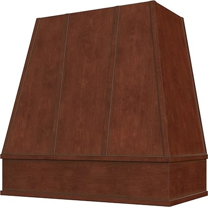 Raleigh Tapered Wood Range Hood - Kitchen Envy Cabinets