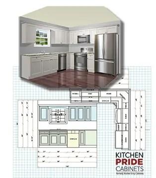 Free Kitchen Design - Kitchen P