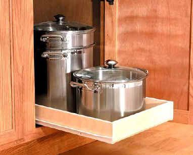 kitchen pull out shelves sinks reviews pullout shelf custom sliding shelving