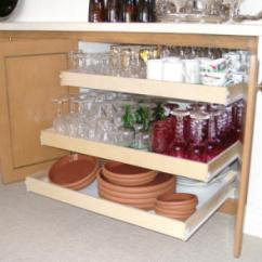 Pull Out Kitchen Cabinet Island Dining Table Combo Shelving Solutions From Shelves To Make Your Life Easier