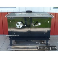 Kitchen Cook Stoves White Floors Kitchenqueen Com Queen Wood 380 Stove Basic