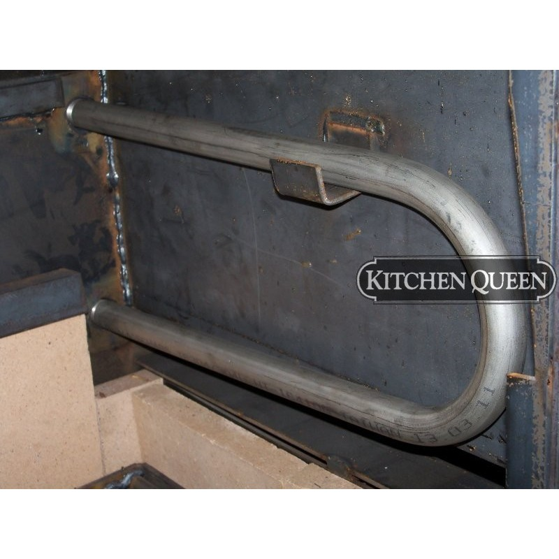 stainless kitchen cart christmas towels hot water coil - queen stoves