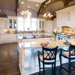 Natural Cherry Kitchen Cabinets White Cast Iron Sink Signature | Usa Kitchens And Baths Manufacturer