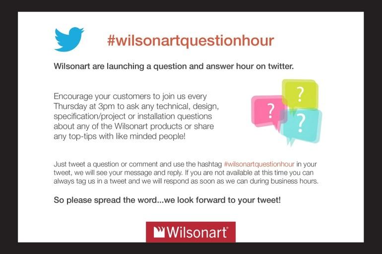 #wilsonartquestionhour