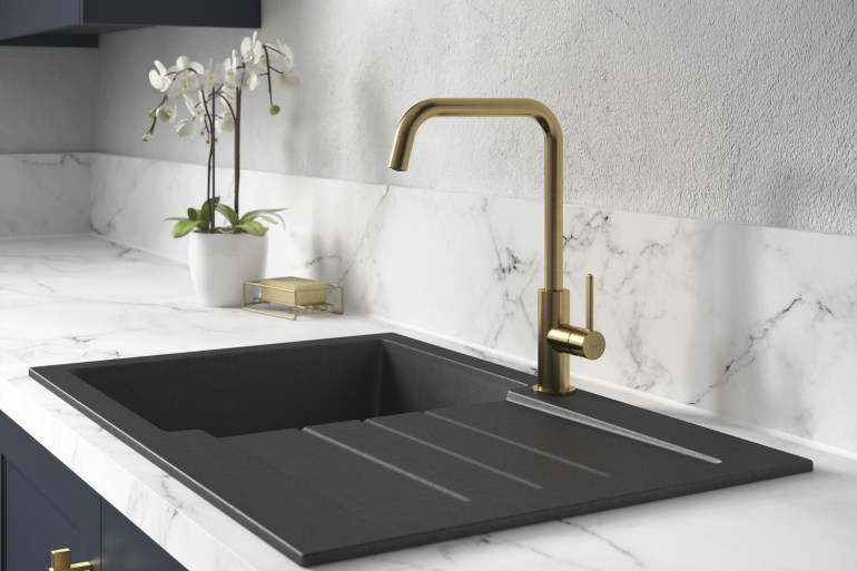 Brushed brass taps abode retailers