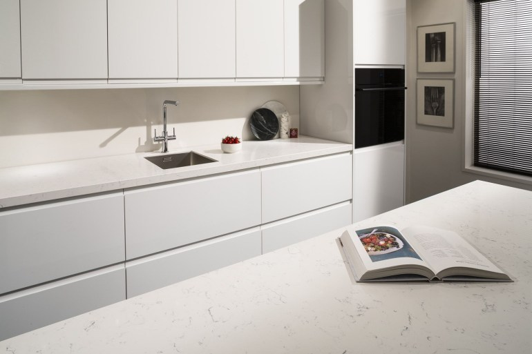 Maxtop Quartz - Alba worktops surfaces