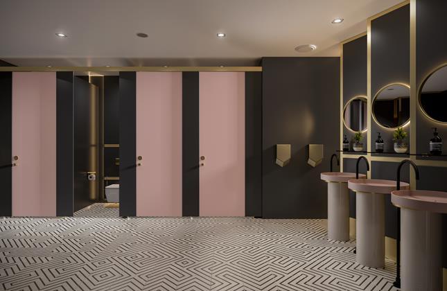Formica survey washrooms hospitality
