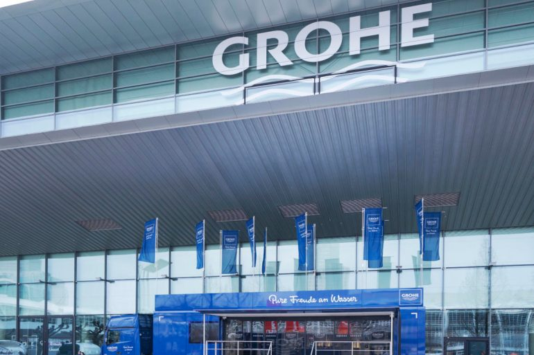 free 1-1 consultations GROHE Homebuilding Renovation home improvement show experience truck