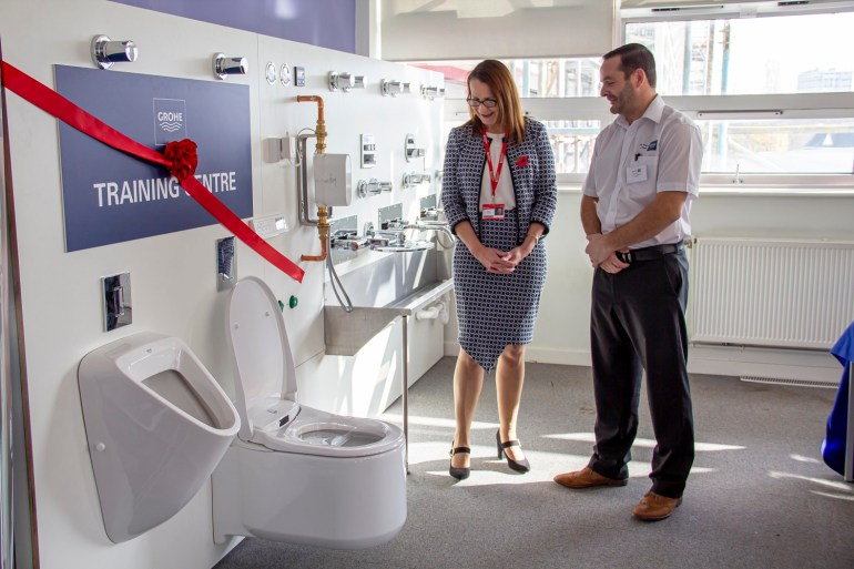 Colchester_Institute_ Grohe_Plumbers_college