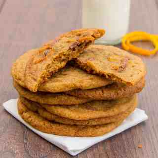 Chocolate Orange Chewy Cookies