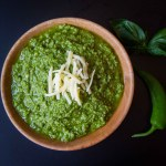 Chilli and walnut pesto - A great twist on your usual pesto. Delicious with pasta or on a grilled baguette as an alternative to garlic bread!