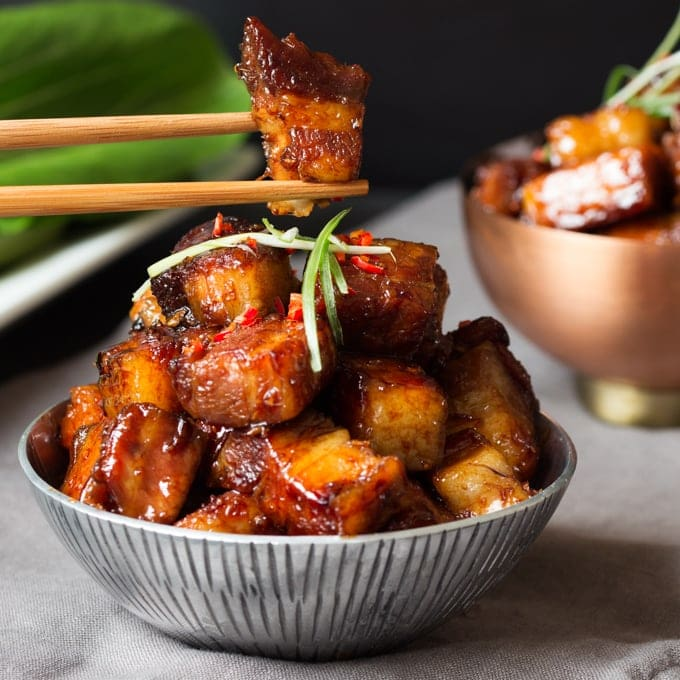 Sticky Chinese Pork Belly