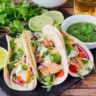Morro Bay Fish Tacos
