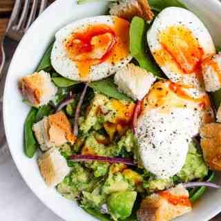 Guacamole & Egg Breakfast Bowl