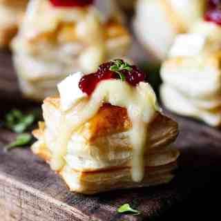 Cranberry & Brie Bites