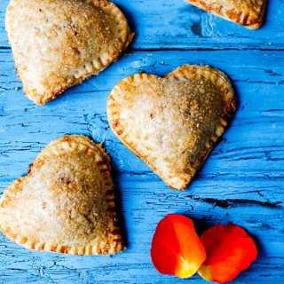 Valentine's Day Cherry Pies