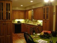 Raised Panel Arch Kitchen Cabinets   Kitchens By Katie