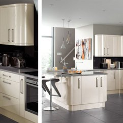 Kitchen Direct Cheap Trash Can Kitchens Design Appliances Lusso Cream