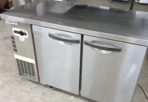 used 2 doors undercounter chiller