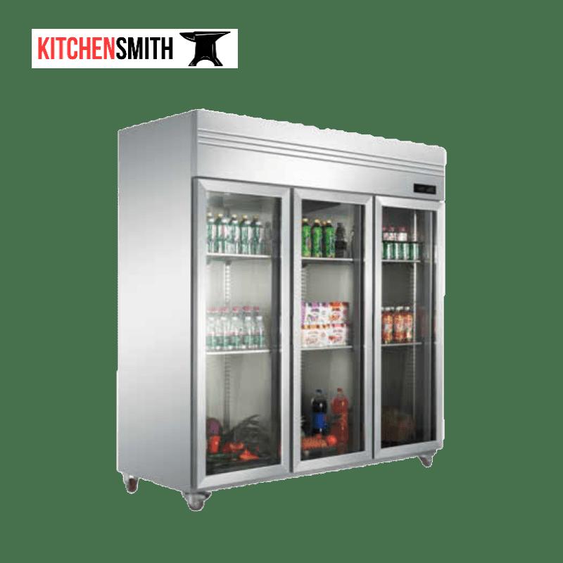 Commercial upright refrigerator