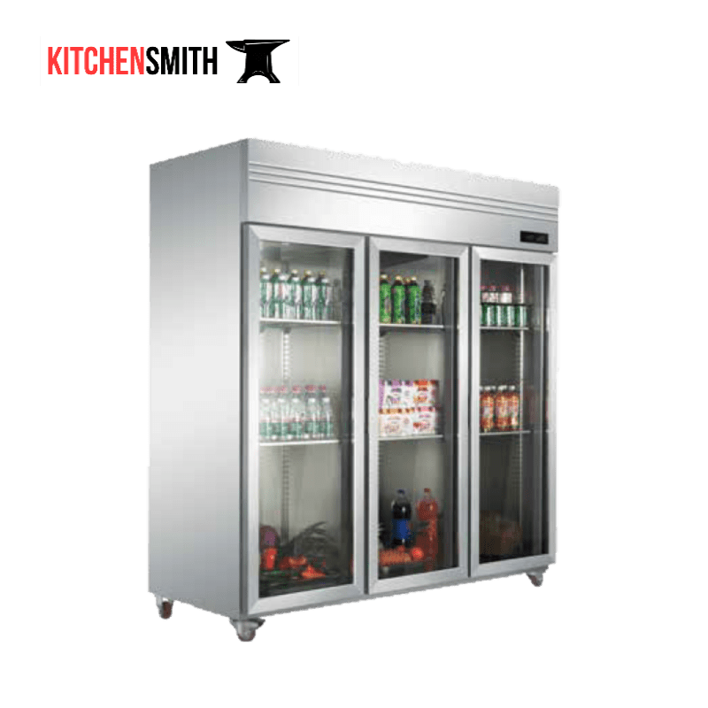 Commercial upright refrigerator
