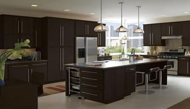 chocolate kitchen cabinets chairs for island buy euro dark wholesale rta moldings