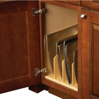 Hafele Wood Tray Divider for Kitchen Base or Tall Cabinet ...