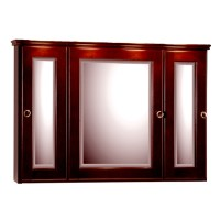 Medicine Cabinets - 36-Inch Rounded Profile Tri-View ...