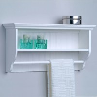 Shelf Ideas for Towel Storage Above the Toilet | Bathroom