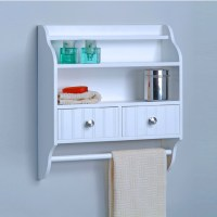 27 Amazing Decorative Bathroom Wall Shelves